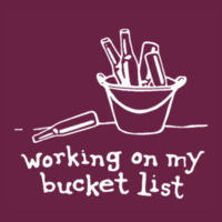 Working on my bucket list - HD Cotton Short Sleeve T-Shirt Design