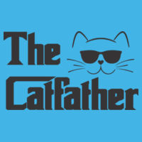 The CatFather - HD Cotton Short Sleeve T-Shirt Design