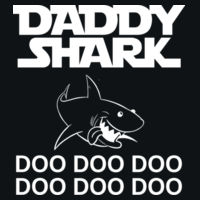 Daddy Shark - HD Cotton Short Sleeve T-Shirt Design