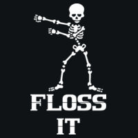 Floss it - HD Cotton Youth Short Sleeve T-Shirt Design