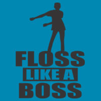 Floss Like a Boss - HD Cotton Youth Short Sleeve T-Shirt Design