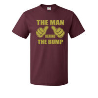 The man behind the bump - HD Cotton Short Sleeve T-Shirt Thumbnail