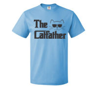 The CatFather - HD Cotton Short Sleeve T-Shirt Thumbnail