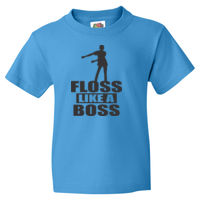 Floss Like a Boss - HD Cotton Youth Short Sleeve T-Shirt Thumbnail