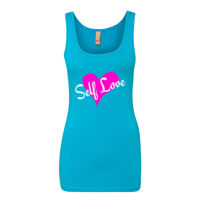 Self Love - Women's The Jersey Fitted Tank Thumbnail