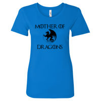 Mother Of Dragons Women Fitted T's - Women's Ideal Fitted Crew T's Thumbnail
