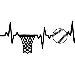 Baseball Basketball Life Line Thumbnail