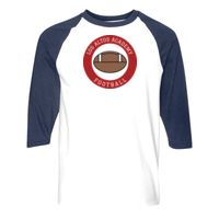 Heavy Cotton Three-Quarter Raglan Sleeve Baseball T-Shirt Thumbnail
